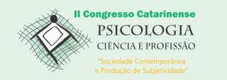 II Congresso Catarinense Psicologia: Ciência e Profissão