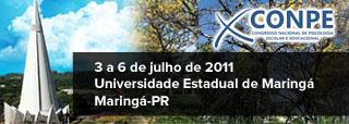 X Congresso Nacional de Psicologia Escolar e Educacional
